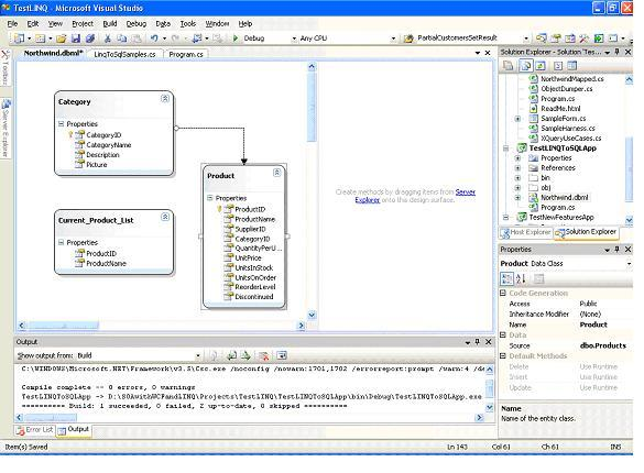 LINQ to SQL: Basic Concepts and Features - CodeProject