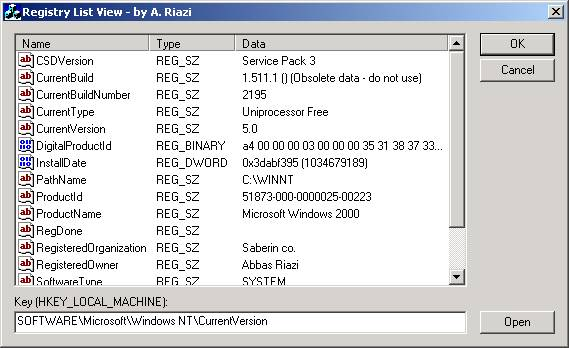Sample Image - RegistryListCtrl.jpg