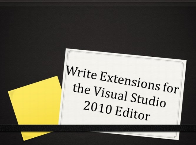 Editor Extensions