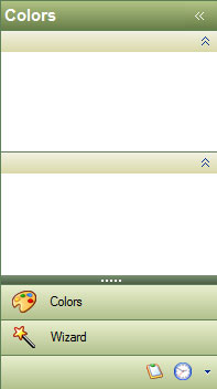 القائمة Outlook Style Navigation Pane  Office2003Green