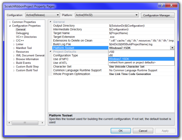 How to Support the Ribbon and a Menu in the Same Executable