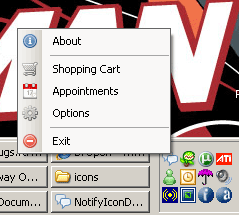 Dual Menus: Add a Left-click Menu to your Application's Tray