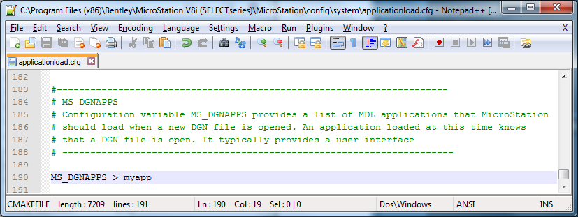 Getting Started with MicroStation Application Development