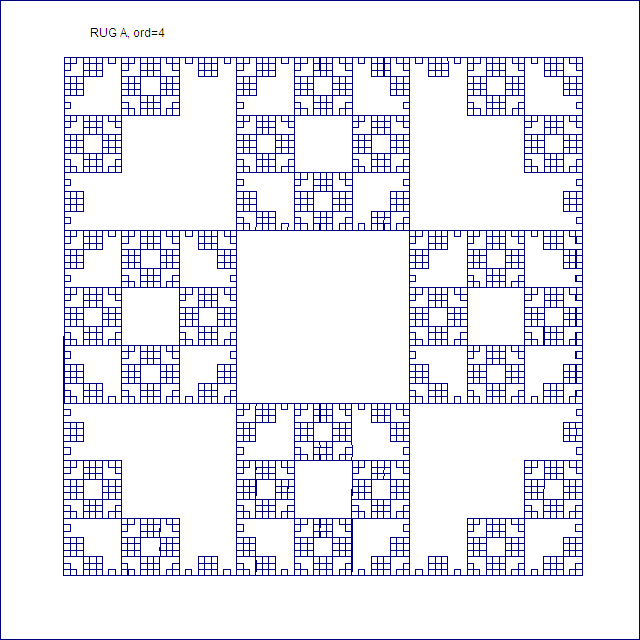 Rug A, order 4