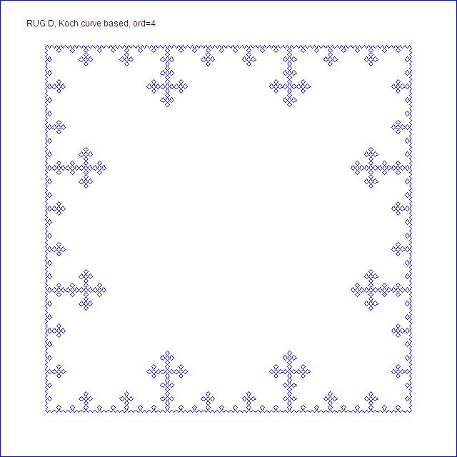 Rug D, order 4