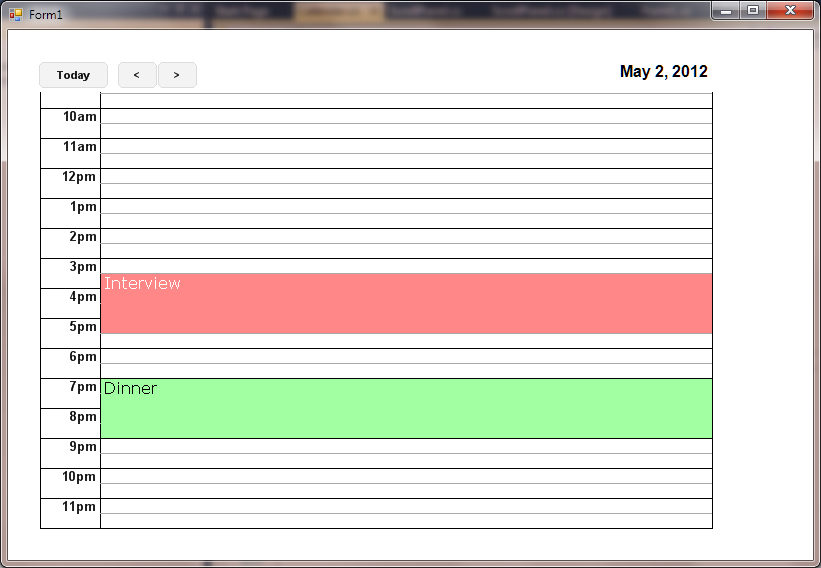 Calendar NET - CodeProject