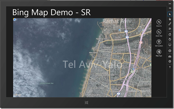 Using Bing Maps for Windows 8 Metro Apps C JavaScript – Map Bing Maps