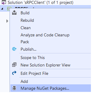 Getting Started with gRPC Client and Server using ASP NET