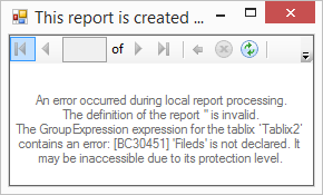 Generating RDLC Dynamically for the Report Viewer Local