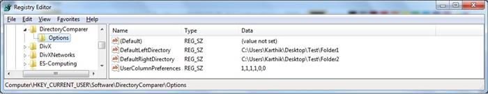Directory Comparer - A recursive tool to compare 2 folders
