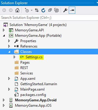 Fun with Xamarin: Building a Simple Working Memory Game App with Web