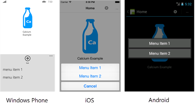 Creating a Cross-Platform Application Bar for Xamarin Forms