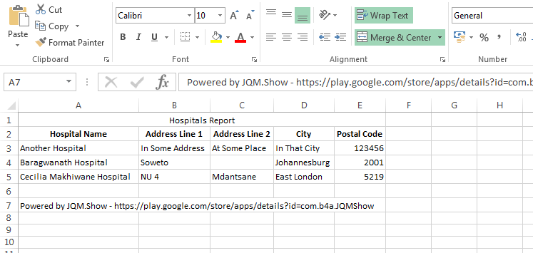 how to create a climatograph on mobile excel