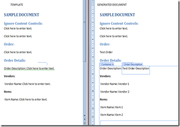 creating word document templates