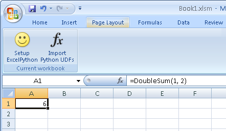 Writing Excel UDFs and Macros in Python with ExcelPython