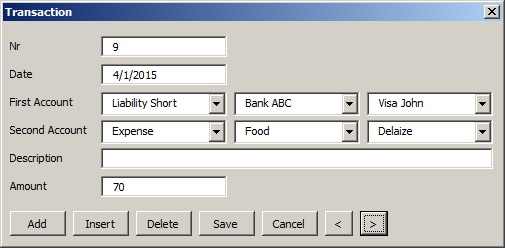 Home BookKeeping With Excel   Codeproject