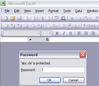 Implementing Password Security on Excel Workbooks Using Visual