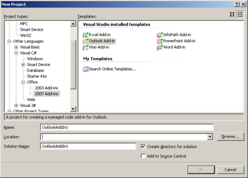 Introduction to Interop with Outlook, VSTO and C# - CodeProject