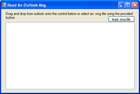 Reading an Outlook MSG File in C# - CodeProject