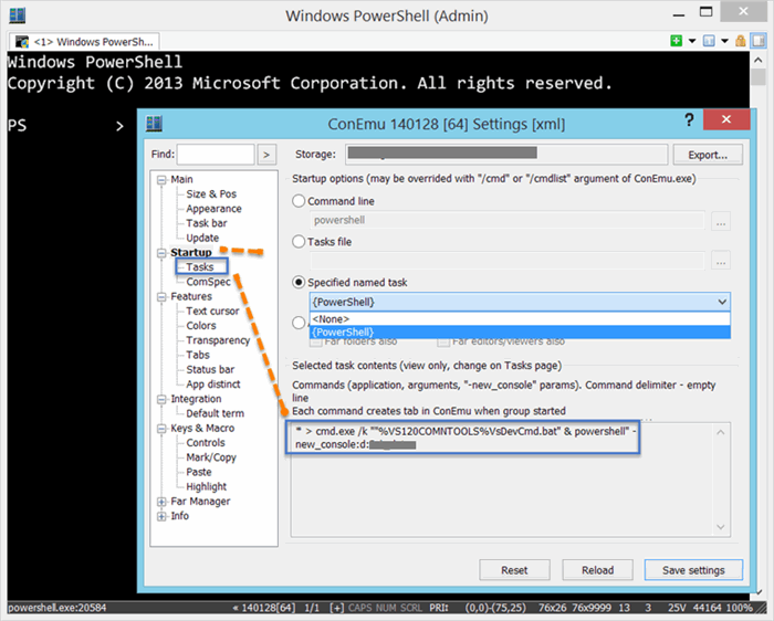 Using Visual Studio Developer Command Prompt With PowerShell