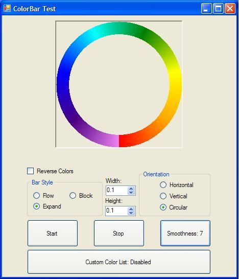 ColorBar - A Gradient Colored ProgressBar - CodeProject