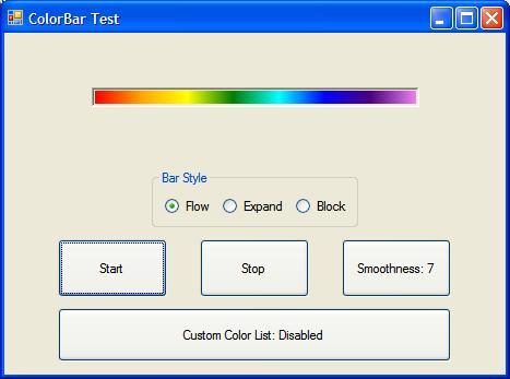 ColorBar - A Gradient Colored ProgressBar - CodeProject