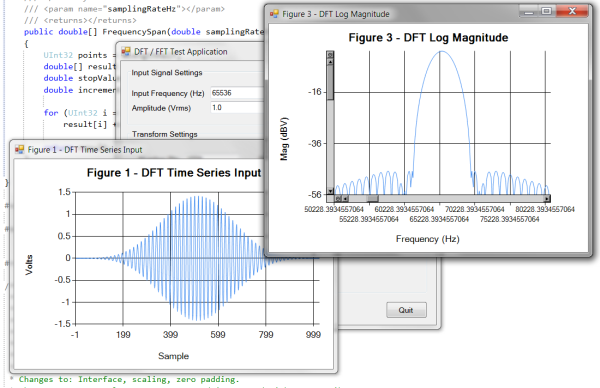 DSPLib - FFT / DFT Fourier Transform Library for  NET 4