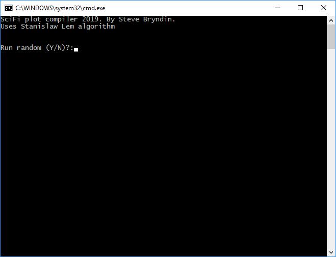 Sci-Fi Plot Compiler - CodeProject