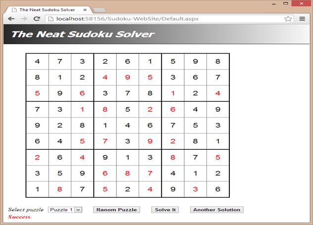 Solving Sudoku using Progressive Search - CodeProject