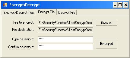 Encrypt/Decrypt File or String - CodeProject