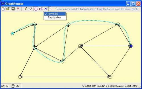 Automatic path finding with GraphFormer
