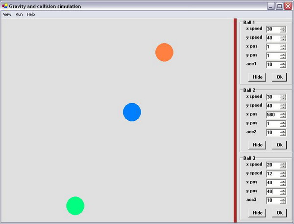 Gravity and Collision Simulation in C# - CodeProject