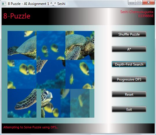 8 Puzzle Wpf Codeproject