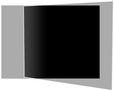 Linear gradient used by the blending filter.
