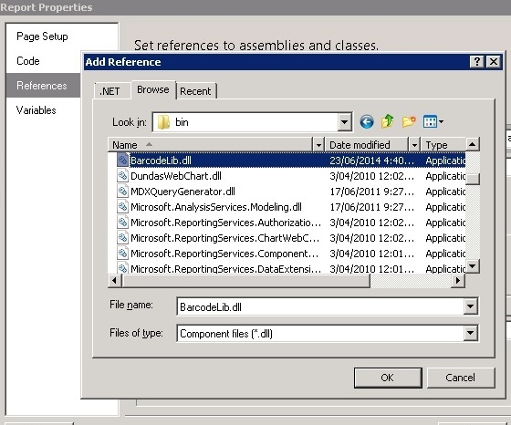 How to Embed Barcodes in Your SSRS Report - CodeProject