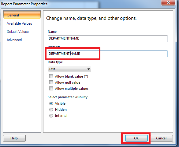 Creating Report using Report Builder and Oracle DB - Part 2