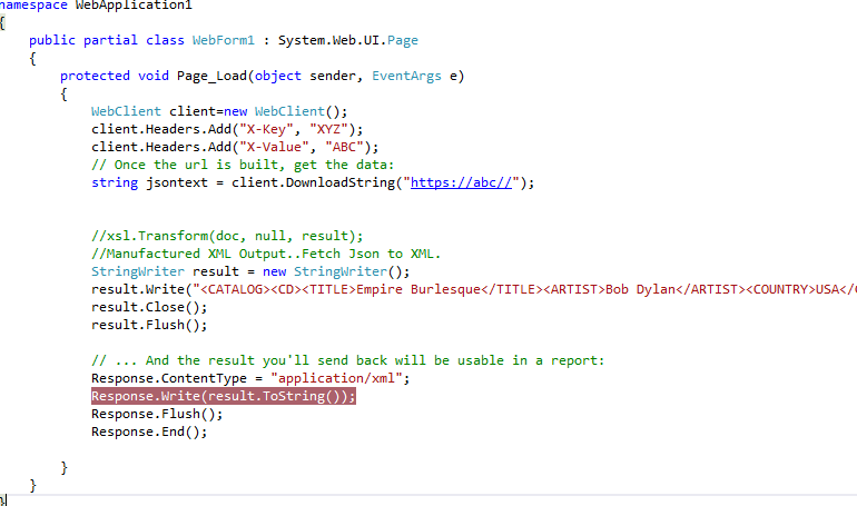 SSRS Report Integration With Web Api - CodeProject