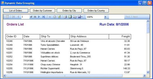 Dynamic Data Grouping Using Microsoft Reporting Services - CodeProject