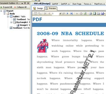 Reporting Services 2008 – Embedding a PDF Document - CodeProject