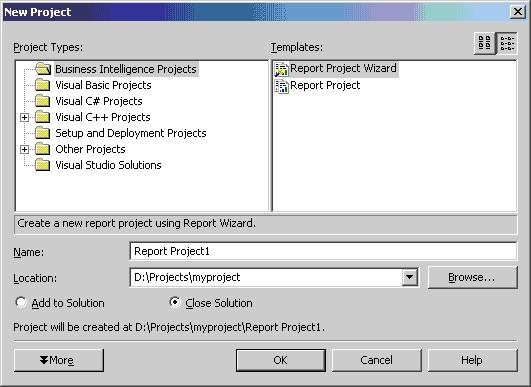 Integrating Microsoft Access DB, SQL Reporting Services and Visual ...