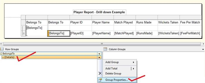 SSRS Series Part II: Working with Subreports, DrillDown