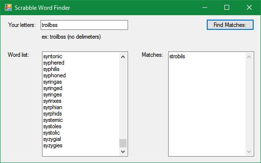 www scrabble word finder