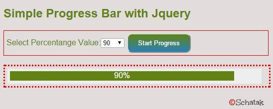 Simple Progress Bar using Jquery - CodeProject