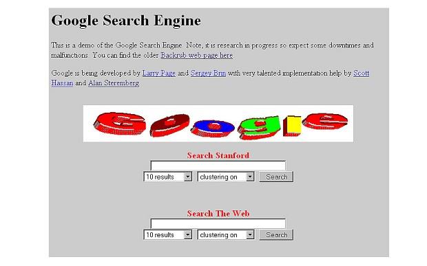 google at 1996
