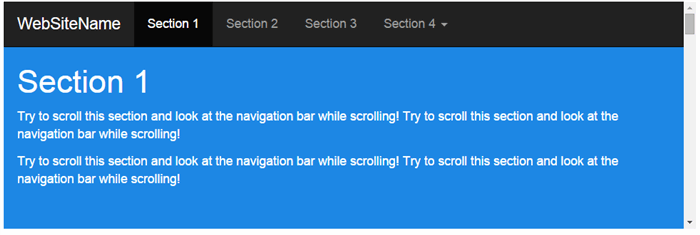 Create Scrollable HTML Side navbar with Bootstrap - CodeProject