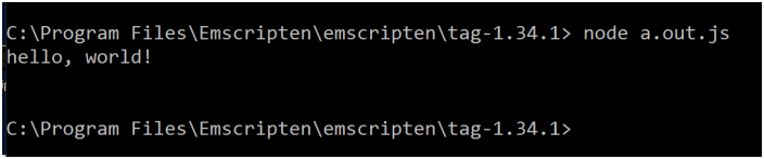 Getting started with Emscripten – Transpiling C / C++ to