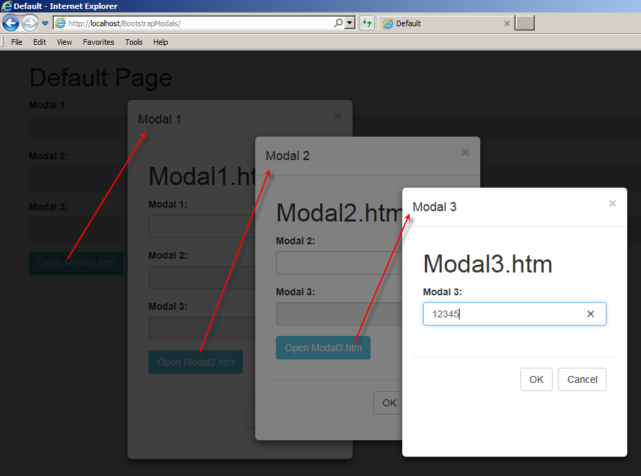 Nested Modal Dialogs using Bootstrap - CodeProject