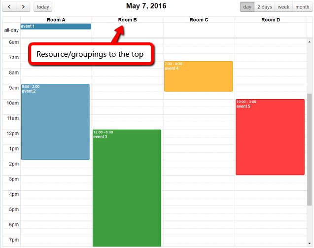 Jquery Full Calendar Recurring Events