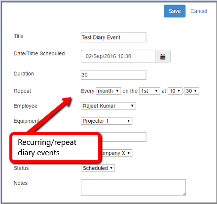 Multi-user/Resource Web Diary in C# MVC with Repeat Events - CodeProject
