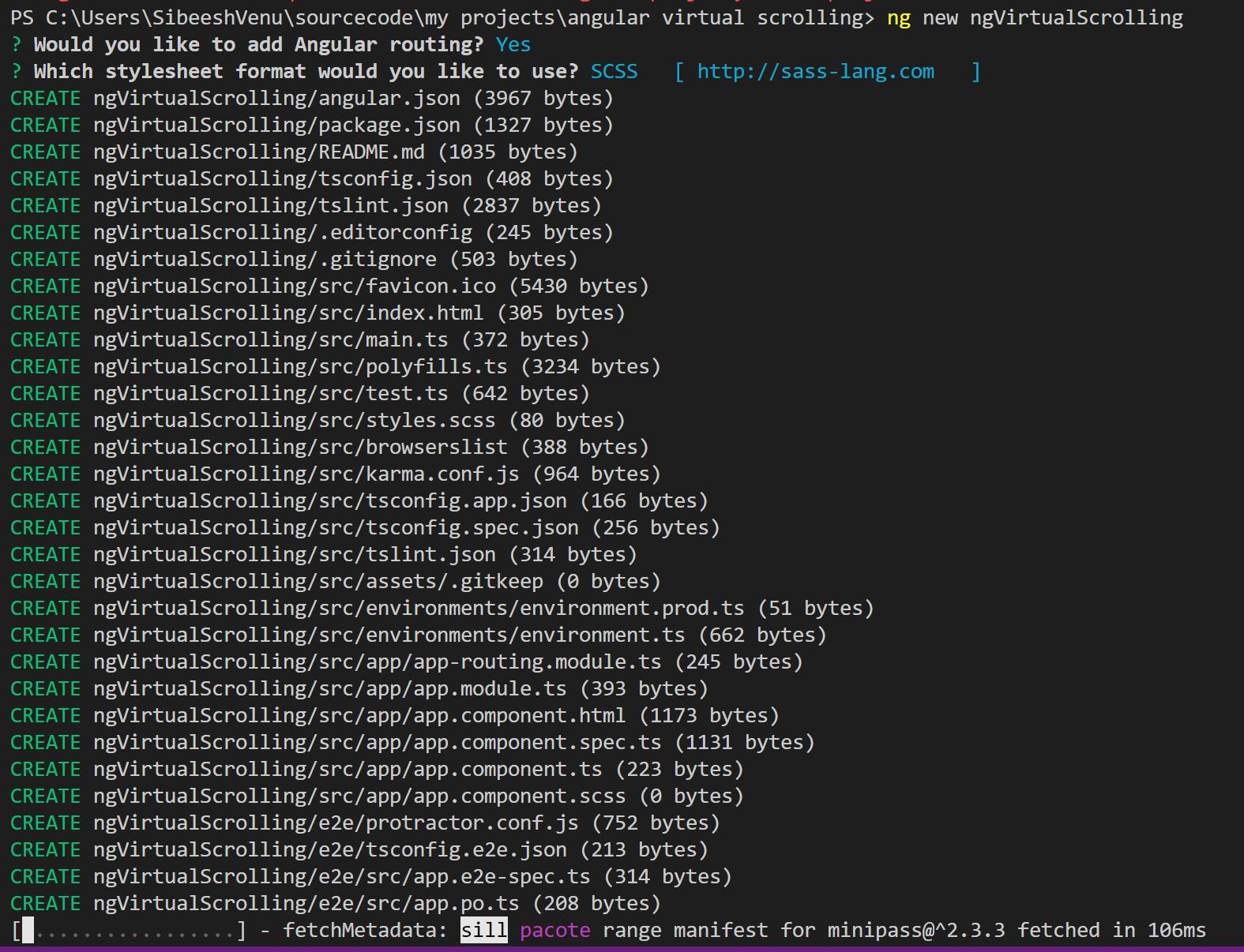 Angular Virtual Scrolling — ngVirtualScrolling - CodeProject